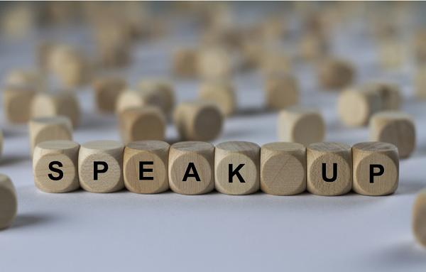 speak up blocks